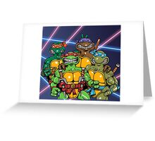 TMNT School Picture Greeting Card