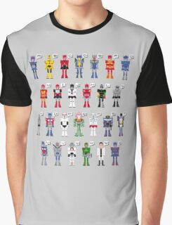 Transformers Alphabet Graphic T-Shirt