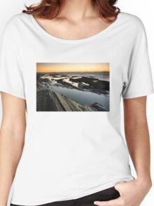 Sunrise on the Maine Coastline Women's Relaxed Fit T-Shirt