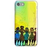 Sisters in Diversity Dress iPhone Case/Skin