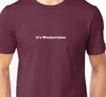 Willy Wonka - It's Wonkavision - White Font Unisex T-Shirt