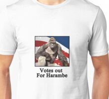 Votes out for harambe Unisex T-Shirt