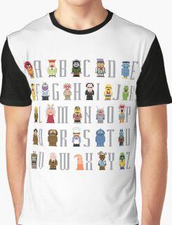 Muppet Alphabet Graphic T-Shirt