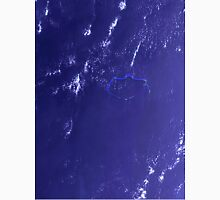 Marshall Islands Bikini Atoll Satellite Image Unisex T-Shirt