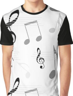 Music pattern Graphic T-Shirt