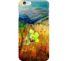 At the Edge of Dreaming Fields iPhone Case/Skin