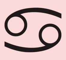 Zodiac Symbol - Cancer the Crab T-Shirt Duvet Sticker Kids Tee