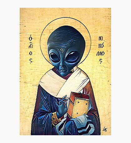 St. Alien Photographic Print