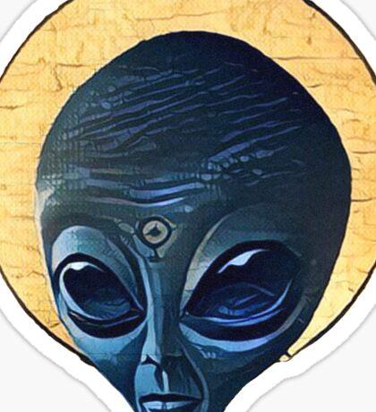 St. Alien Sticker