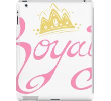 Royalty - Classic iPad Case/Skin