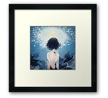 winds guide you. Framed Print