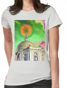 Temple of Light Womens Fitted T-Shirt