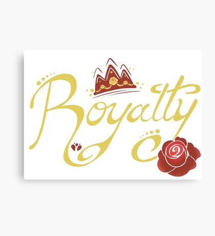 Royalty - Beauty Canvas Print