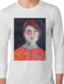 Portrait of a Woman Long Sleeve T-Shirt