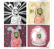 Variations of Beast Boy (in a bunny suit) Poster