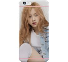 BLACKPINK - Rose iPhone Case/Skin
