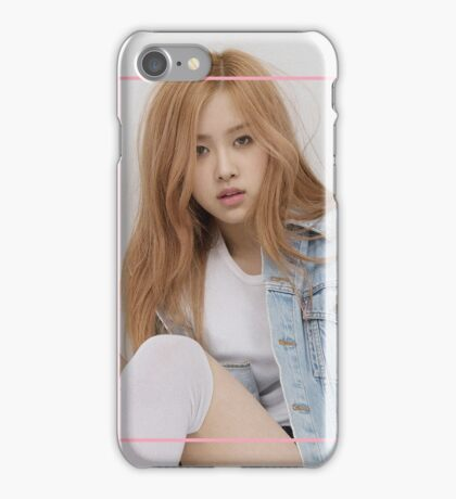 BLACKPINK - Rose iPhone Case/Skin