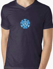 Mini Arc-Reactor Mens V-Neck T-Shirt