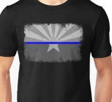 Blue Line Arizona State Flag Unisex T-Shirt