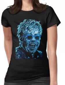 ELTON JOHN Womens Fitted T-Shirt