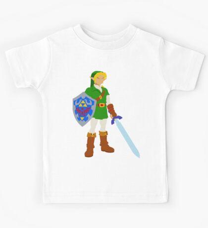 Ocarina of Time - Adult Link Kids Tee