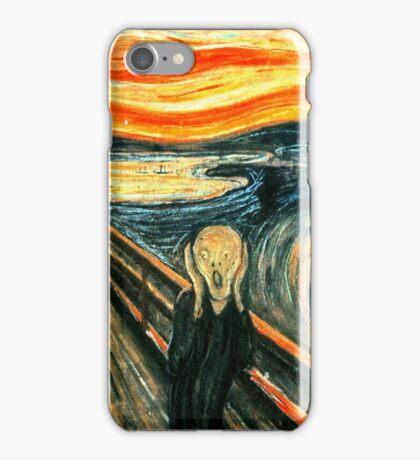 The Scream by Edvard Munch iPhone Case/Skin