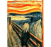 The Scream by Edvard Munch Photographic Print