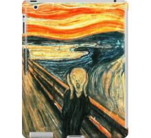 The Scream by Edvard Munch iPad Case/Skin