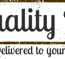 Kristoff's Quality Ice Sticker