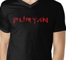 RED FURYAN Mens V-Neck T-Shirt