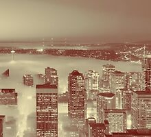 Love Seattle Panorama by stine1