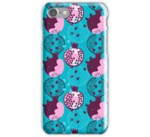 Pomegranate Abstractions  iPhone Case/Skin
