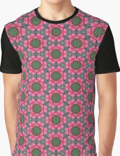 Pink Tulip Planet Graphic T-Shirt