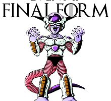 This is not even my final form- Second Form Frieza by TheRising