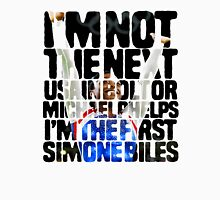 I'm the first Simone Biles Unisex T-Shirt