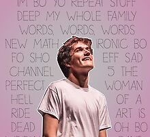 Bo Burnham Song titles by paigep605