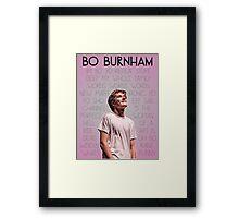 Bo Burnham Song titles Framed Print