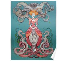 Lady Octopus Poster