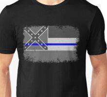 Blue Line Mississippi State Flag Unisex T-Shirt
