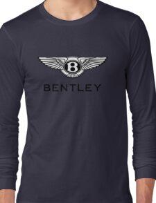 The Cool Logo of BENTLEY Long Sleeve T-Shirt