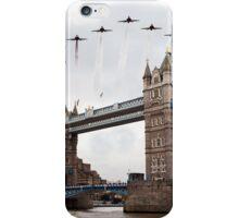 Reds over Tower Bridge iPhone Case/Skin