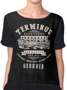 Terminus The Walking Dead Chiffon Top