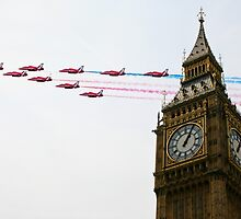 Over the Capital  by J Biggadike