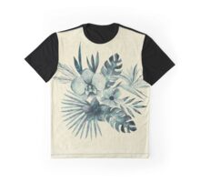 Tropical Leaves in a Bouquet Graphic T-Shirt