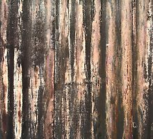 Rusted Corrugated Metal Texture by ArtVixen