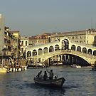 Rialto Bridge - Venice, Italy by Kasia Nowak