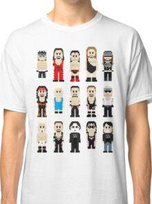 8-Bit Wrestlers 4 Life Classic T-Shirt