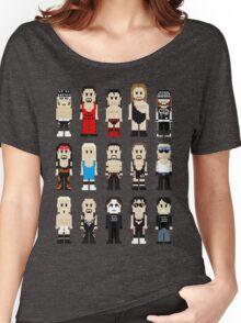8-Bit Wrestlers 4 Life Women's Relaxed Fit T-Shirt