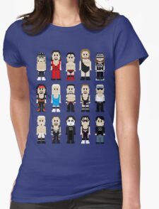 8-Bit Wrestlers 4 Life Womens Fitted T-Shirt