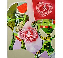 Chinese Cracker Photographic Print